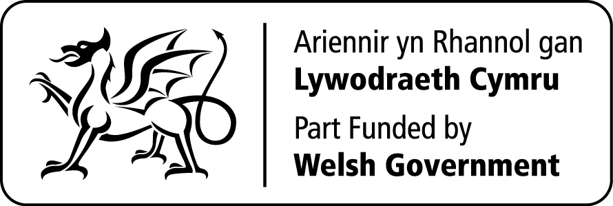 Part funded by the Welsh Government