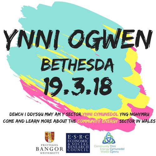Community Energy Knowledge Exchange Visit: Ynni Ogwen, Bethesda, Gwynedd