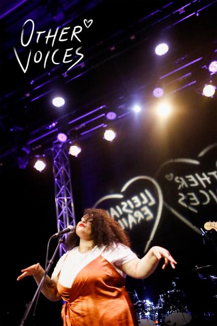 Singer 'Eädyth' performing onstage